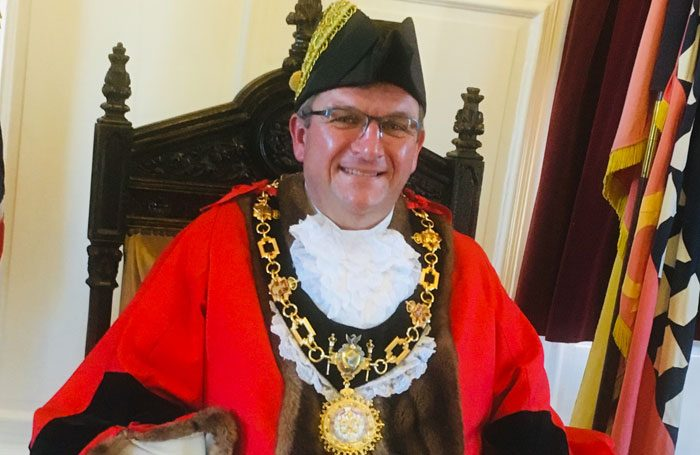 Richard Kingstone, mayor of Tamworth, will be appearing in Aladdin at Tamworth Assembly Rooms from January 18-26.