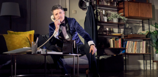 Tom Chambers in Dial M for Murder at Richmond Theatre, London