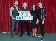 Left to right: David Shannon, Colm Wilkinson, Deborah Kelleher, Séimí Campbell. Photo: Guy Boggan