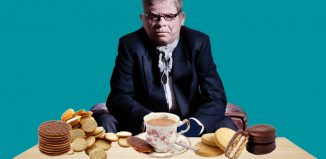 West End Producer samples a selection of biscuits. Photos: Shutterstock/Matt Crockett