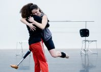 Candoco Dance Company - one of the organisations that must improve its rating to strong by 2021. Photo: Camilla Greenwell
