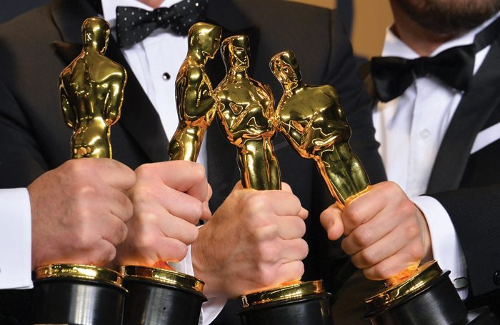 The #OscarsSoWhite hashtag began in reaction to the lack of diversity among the award winners in 2017. Photo: Shutterstock