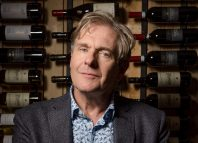Actor Robert Bathurst in a promotion shot for Love, Loss and Chianti at Riverside Studios. Photo: Alex Brenner
