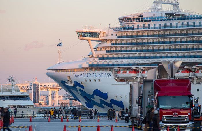 Third death from cruise ship, Japan's health minister vows action