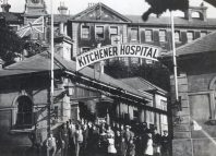 The Kitchener Hospital in Brighton