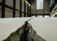 Doris Salcedo's Shibboleth at Tate Modern in 2007. Photo: Tate Photography