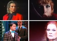 Clockwise from top right: Jennifer Saunders singing I Know Him So Well; Shirley MacLaine in Sweet Charity; Judi Dench singing Sixteen Going on Seventeen from The Sound of Music; Daniel Radcliffe singing Brotherhood of Man at the Tonys. Photos: YouTube